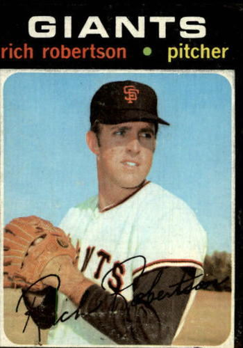 Photo of 1971 Topps #443 Rich Robertson