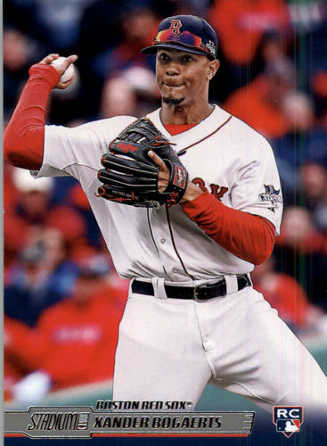 Photo of 2014 Stadium Club #110 Xander Bogaerts Rookie Card