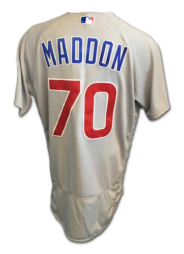 Joe Maddon Team-Issued Jersey -- 2017 Season