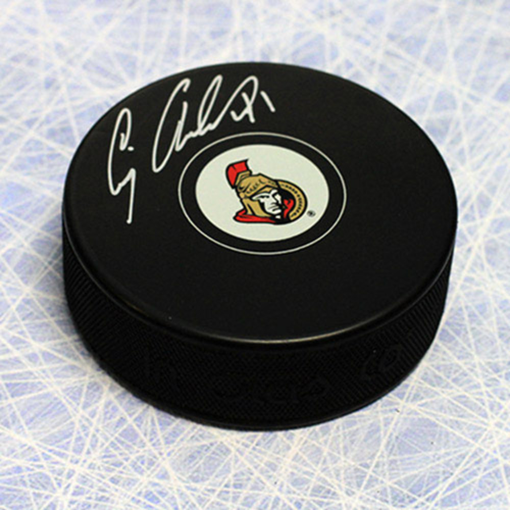Craig Anderson Ottawa Senators Autographed Hockey Puck