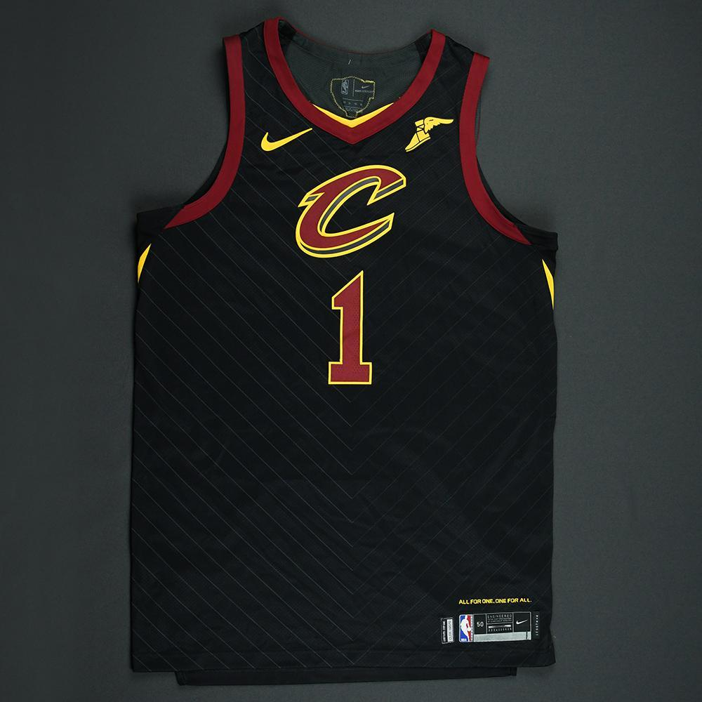 Rodney Hood - Cleveland Cavaliers - 2018 NBA Finals - Game 1 - Game-Worn Black 'Statement' Jersey