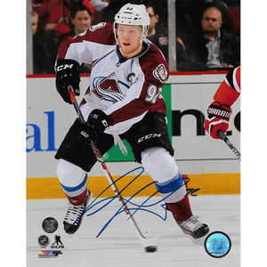 Gabriel Landeskog Autographed Colorado Avalanche 8X10 Photo