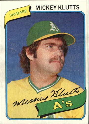 Photo of 1980 Topps #717 Mickey Klutts DP