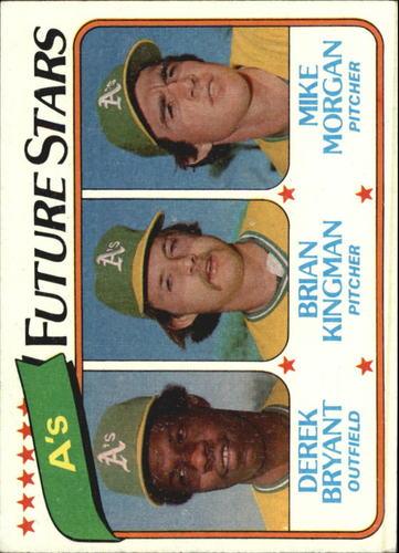 Photo of 1980 Topps #671 Derek Bryant RC/Brian Kingman RC/Mike Morgan RC