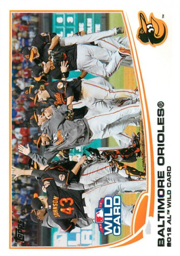 Photo of 2013 Topps #317 Baltimore Orioles