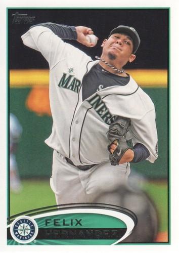 Photo of 2012 Topps #430A Felix Hernandez