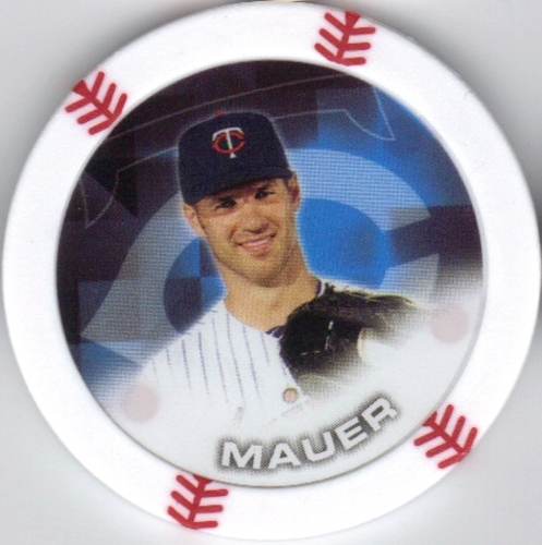 Photo of 2014 Topps Chipz #60 Joe Mauer
