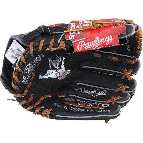 Photo of Derek Jeter Autographed Rawlings Glove