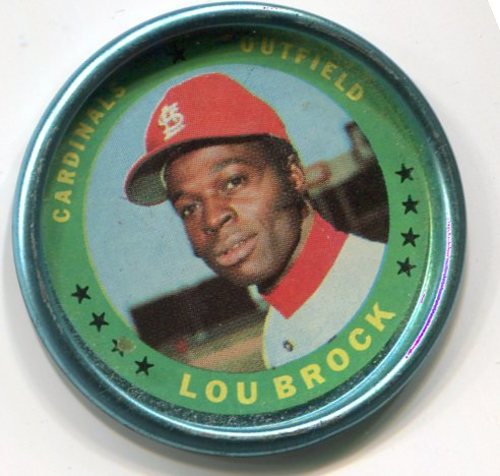 Photo of 1971 Topps Coins #87 Lou Brock