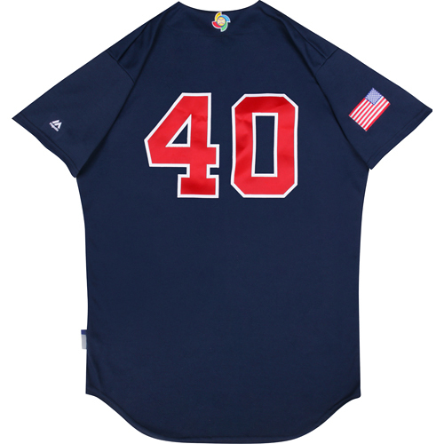 Photo of 2017 WBC: USA Game-Used Batting Practice Jersey, Marc Melancon #40