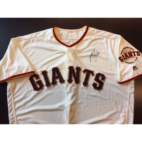 Photo of Giants End of Year Auction: Madison Bumgarner Autographed Giants Jersey