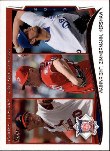 Photo of 2014 Topps Mini #294 Adam Wainwright/Jordan Zimmermann/Clayton Kershaw LL