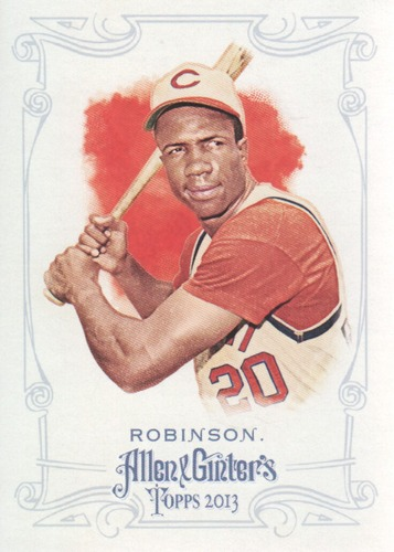 Photo of 2013 Topps Allen and Ginter #77 Frank Robinson