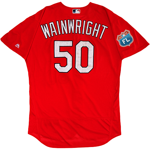 Photo of St. Louis Cardinals Spring Training Jersey - Adam Wainwright