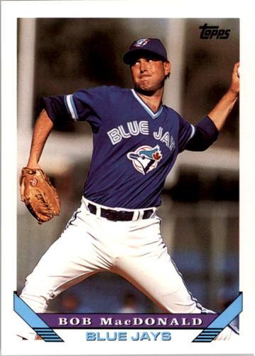 Photo of 1993 Topps #427 Bob MacDonald