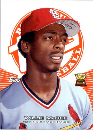 Photo of 2005 Topps Rookie Cup Orange #50 Willie McGee