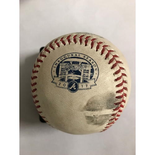 Photo of Kris Bryant Hit Double Baseball - July 19, 2017