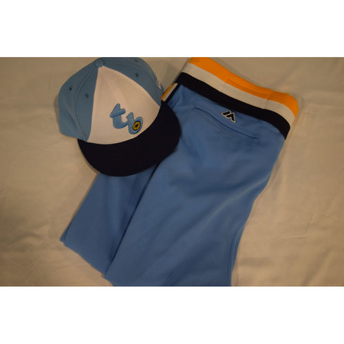 Photo of Game-Used Turn Back the Clock Hat and Pants: Scott Cursi