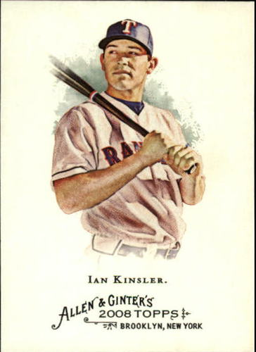 Photo of 2008 Topps Allen and Ginter #9 Ian Kinsler