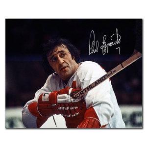 Phil Esposito Team Canada SALUTE Autographed 8x10