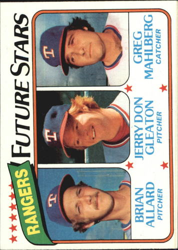 Photo of 1980 Topps #673 Brian Allard RC/Jerry Don Gleaton RC/Greg Mahlberg RC