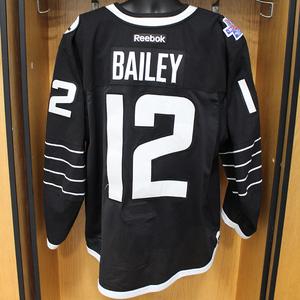 Josh Bailey - Game Worn Third Jersey - 2015-16 Season - New York Islanders