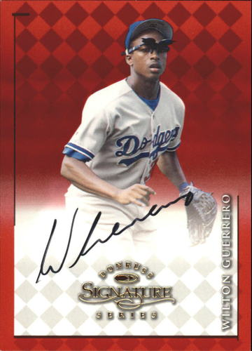 Photo of 1998 Donruss Signature Autographs #40 Wilton Guerrero/1900*
