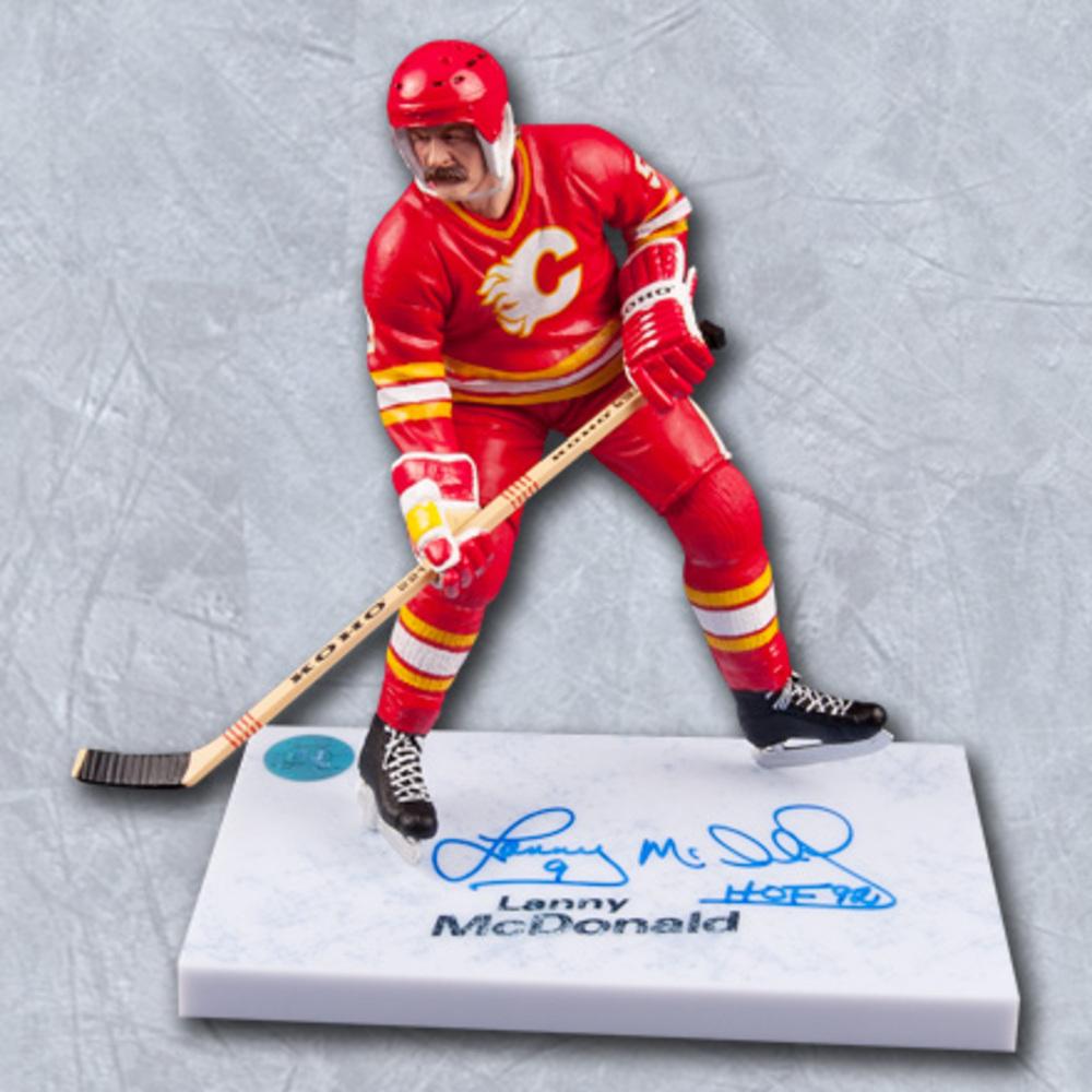 Lanny McDonald Calgary Flames Autographed McFarlane Figurine