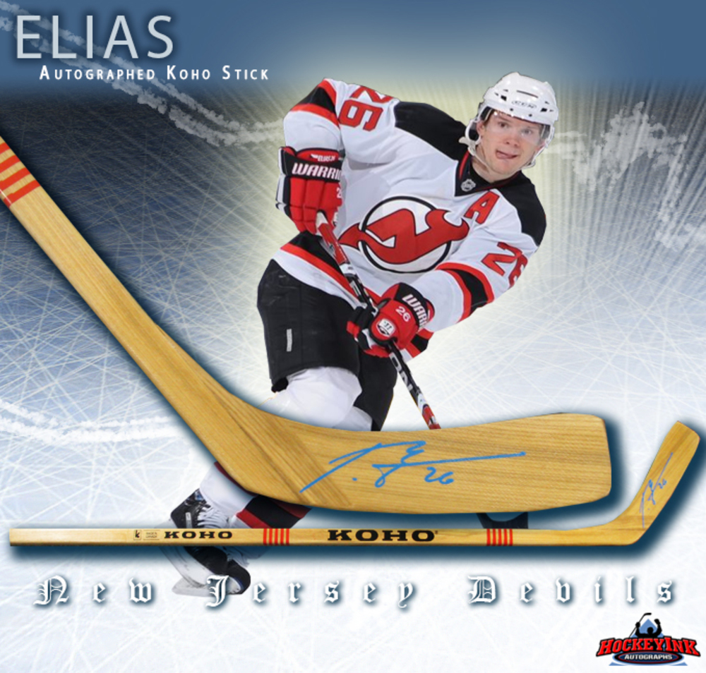 PATRIK ELIAS Signed Koho Stick - New Jersey Devils