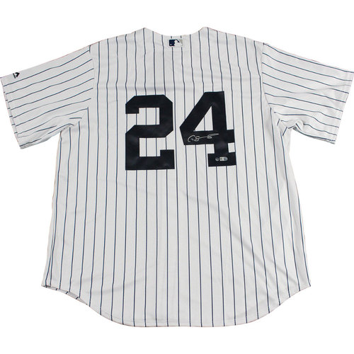 Photo of Gary Sanchez Autographed New York Yankees Replica Pinstripe Jersey