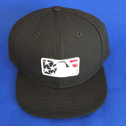 UMPS CARE AUCTION: MLB Specialty Stars and Stripes Umpire Cap - Size 7 5/8