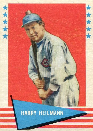 Photo of 1961 Fleer #42 Harry Heilmann