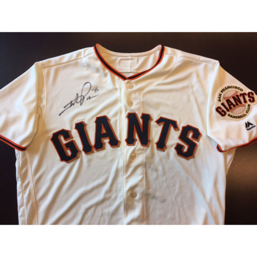 Photo of Giants End of Year Auction: Hunter Pence Autographed Giants Jersey