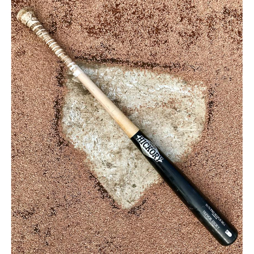 Photo of Colorado Rockies Trevor Story Game-Used Broken Bat