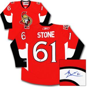 Mark Stone Autographed Ottawa Senators Jersey