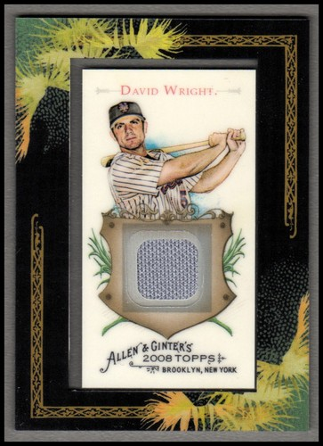 Photo of 2008 Topps Allen and Ginter Relics #DW David Wright Jsy C