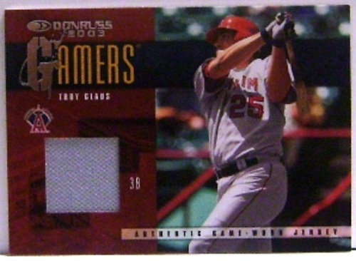 Photo of 2003 Donruss Gamers #26 Troy Glaus