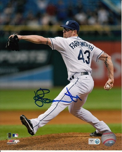Photo of Kyle Farnsworth Autographed 8x10