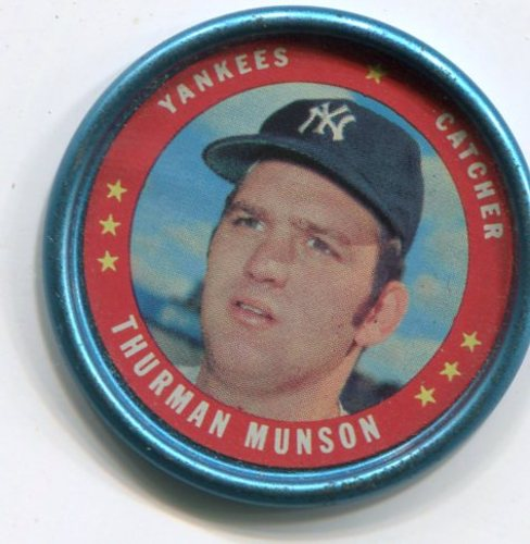 Photo of 1971 Topps Coins #118 Thurman Munson