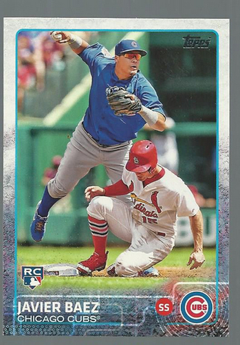 Photo of 2015 Topps #315 Javier Baez Rookie Card