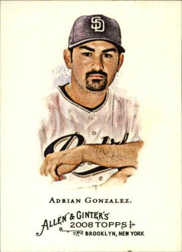 Photo of 2008 Topps Allen and Ginter #14 Adrian Gonzalez