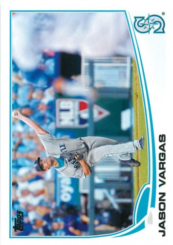 Photo of 2013 Topps #82 Jason Vargas