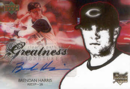 Photo of 2006 Upper Deck Future Stars #151 Brendan Harris AU (RC)