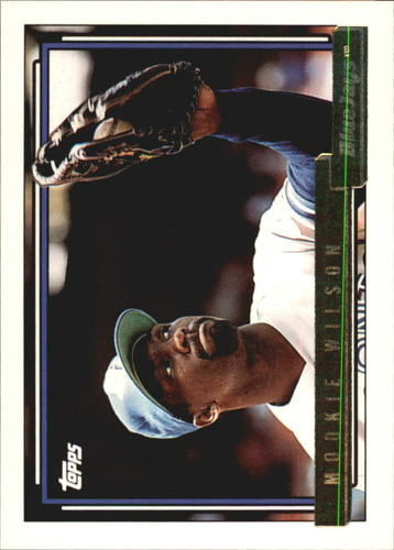 Photo of 1992 Topps Gold #436 Mookie Wilson
