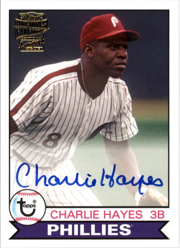 Photo of 2016 Topps Archives Fan Favorites Autographs #FFACH Charlie Hayes