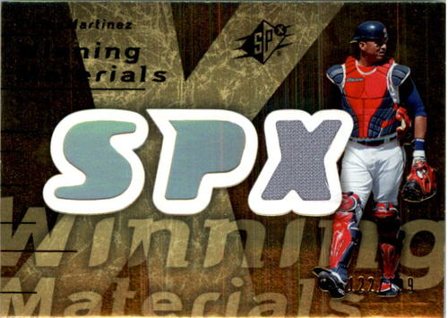 Photo of 2007 SPx Winning Materials Dual Gold #VM Victor Martinez/50