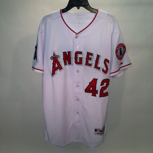 2014 Jackie Robinson Day Jersey - Los Angeles Angels Team Autographed Jersey