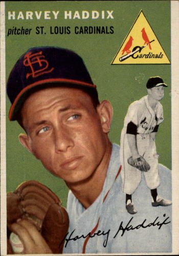 Photo of 1954 Topps #9 Harvey Haddix