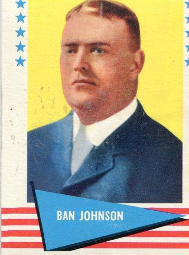 Photo of 1961 Fleer #48 Ban Johnson