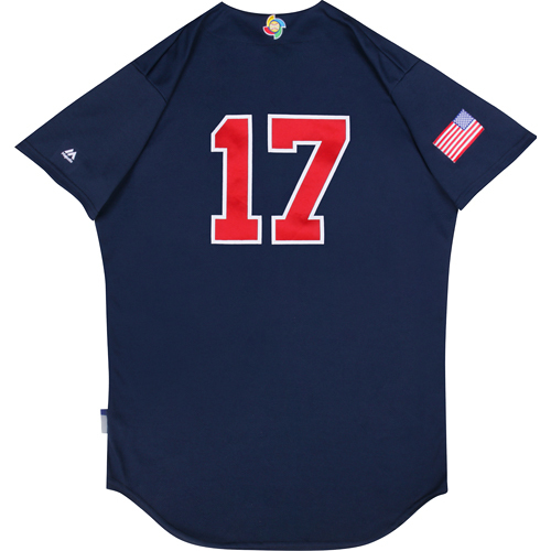 Photo of 2017 WBC: USA Game-Used Batting Practice Jersey, Pat Neshek #17